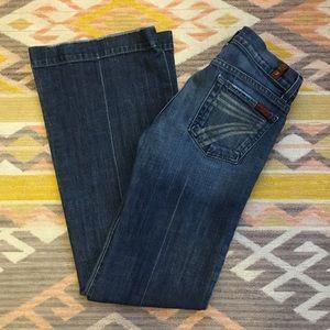 7 for All Mankind • Dojo Flare Leg Jeans